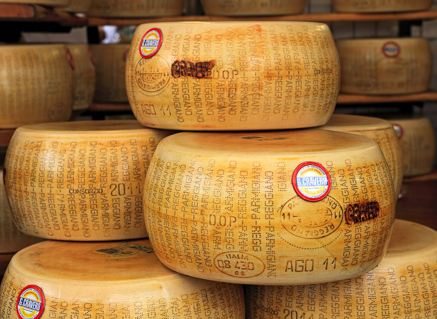 Treat your pasta lover with a wheel of parmigiano!