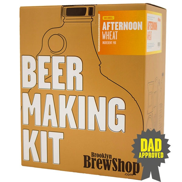 Gifts for Food Loving Father: Beer Making Kit