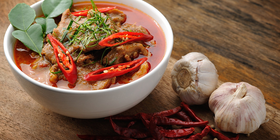 WEDNESDAY NIGHT SUPPER CLUB: SPICE IT UP WITH PANANG CURRY