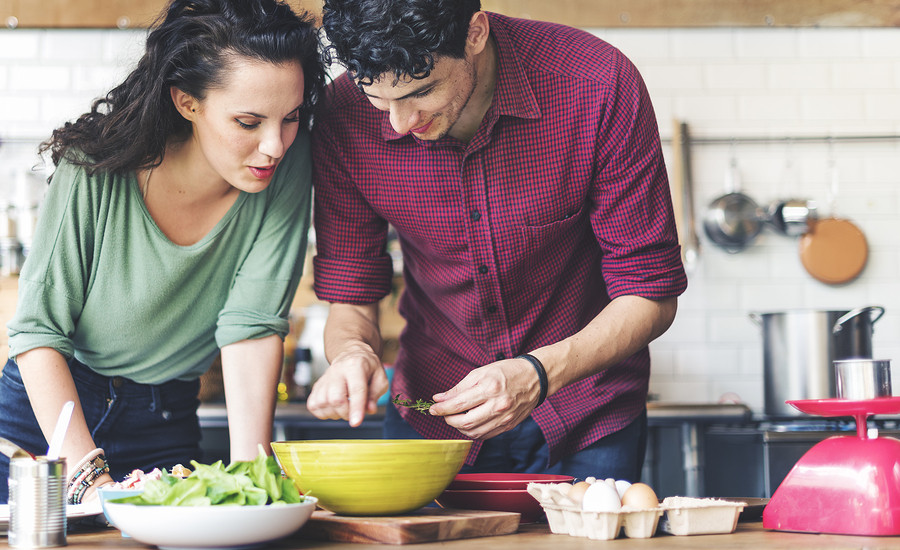 Research shows couples that cook together have more positive feelings towards their relationship