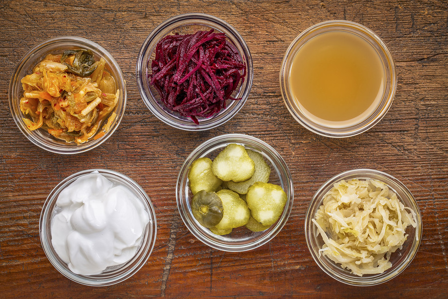 Embrace nutritionally rich foods like sauerkraut, tempeh and lassis