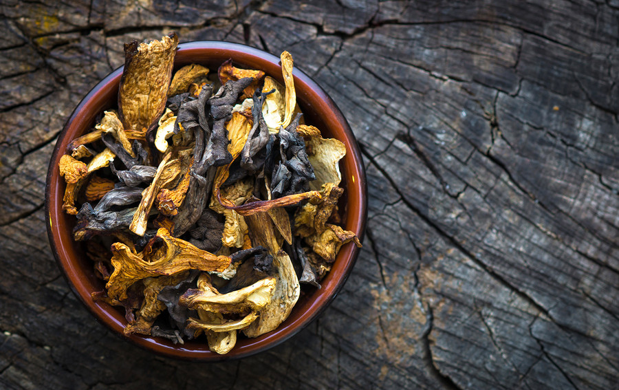 Dried mushrooms are alleys good to have on hand when making Italian food