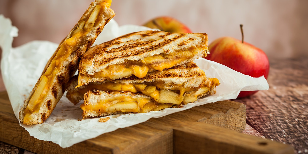 APPLES, PICKLING & THE ULTIMATE GROWN UP GRILLED CHEESE