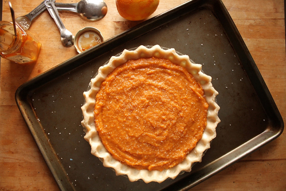 Sweet Potato Pie has become part of his family's Thanksgiving tradition