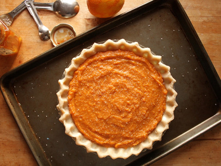 Cooking with Dad: Dad's Sweet Potato Pie Recipe