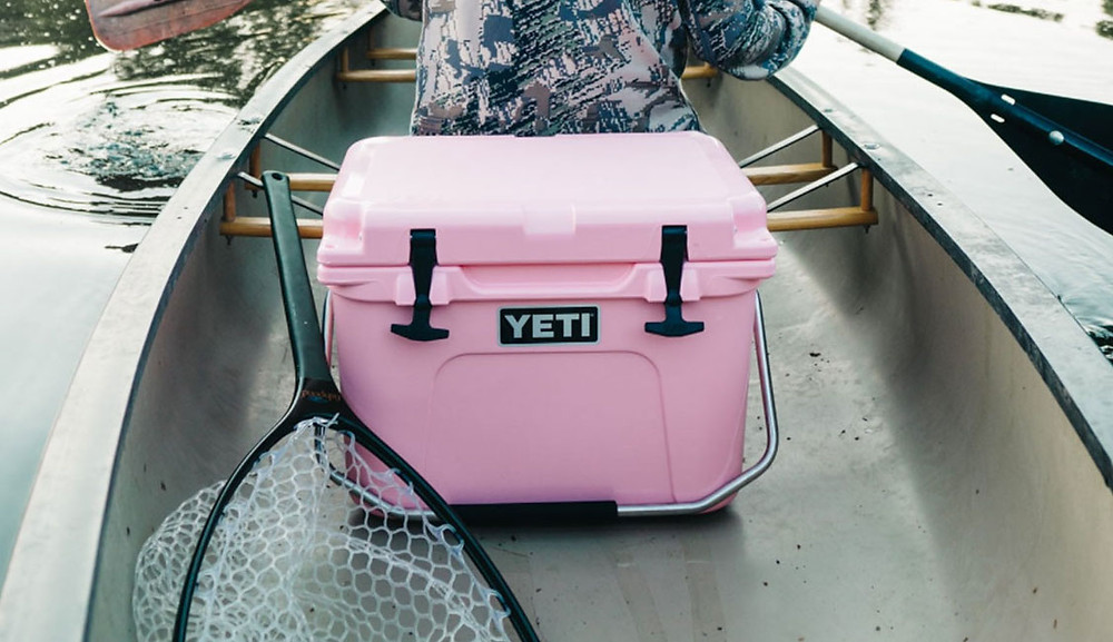The Yeti cooler technology keeps things cooler for longer