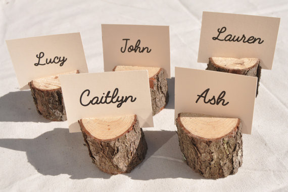 These place card holders will be a great addition to the entertainers dining set