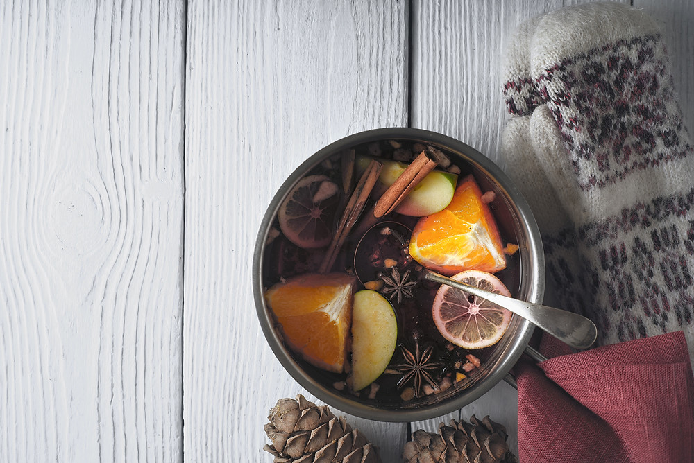 Mulled Wine, friends, holidays? Enough said.