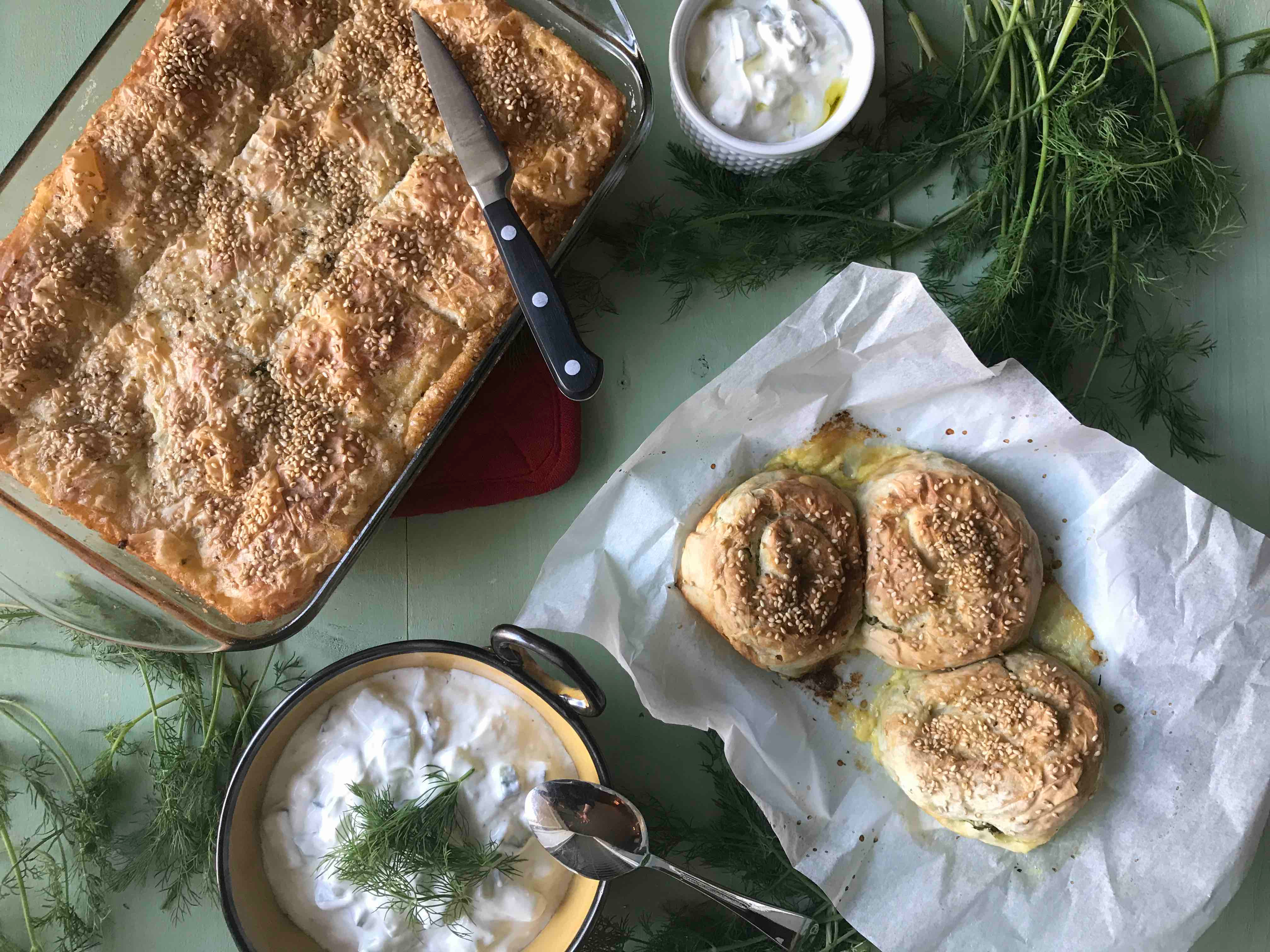 Turkish & Mediterranean Cooking Classes | The Chef & The Dish
