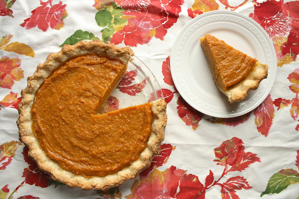 Sweet Potato Pie Recipe from The Hungry Hutch