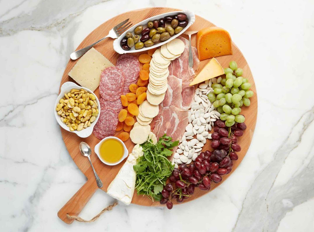 Charcuterie boards make entertaining easy