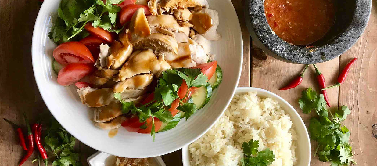 Singapore Chicken Rice Asian Cooking Cla