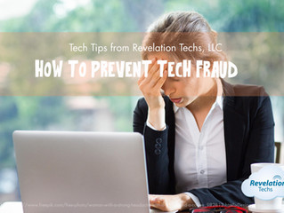 How To Prevent Tech Fraud