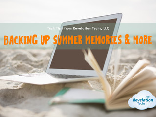 Backing Up Summer Memories
