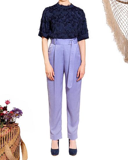 `SP001`Dress satin pants