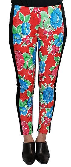 'Las Flores' Plastic leggings