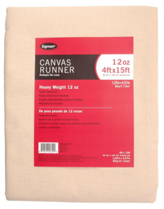 This is the canvas runner I purchased at the Home Depot