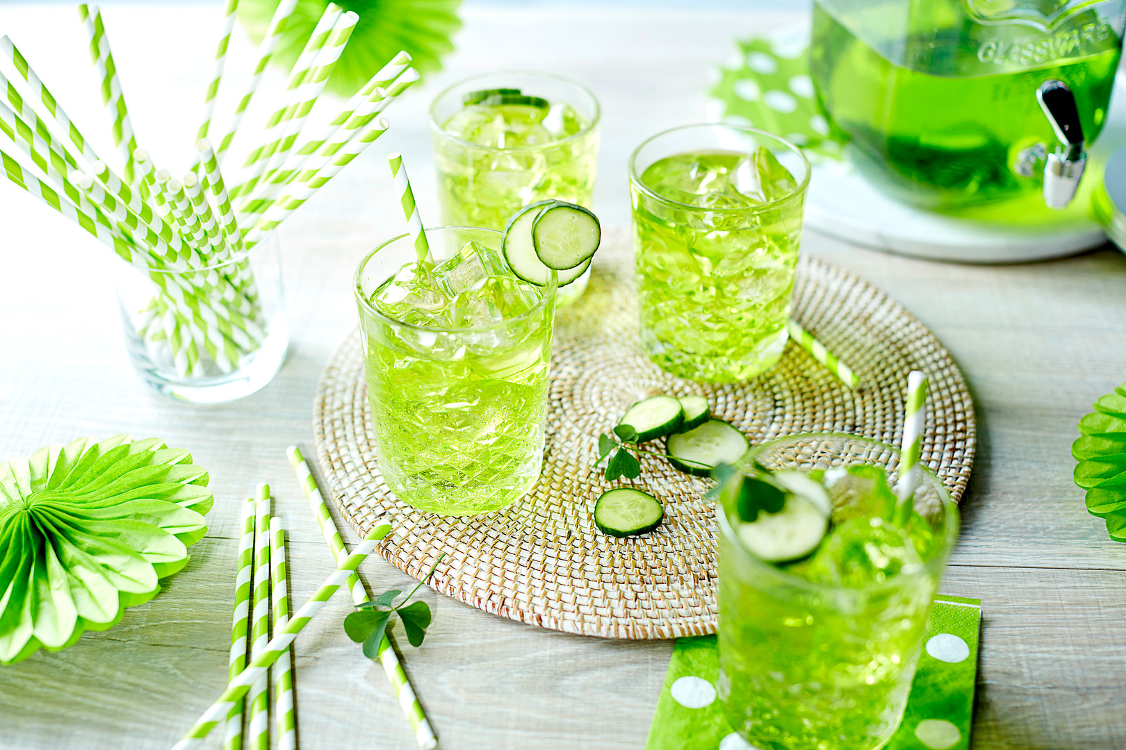 St. Patty's Day Tablescape