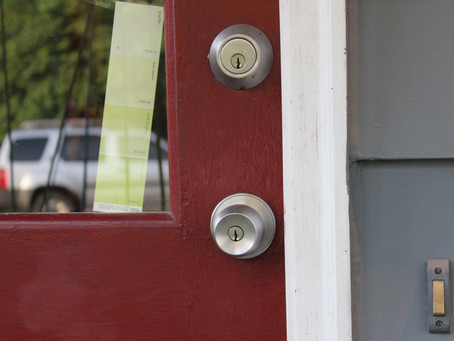 How To Prep Your Home To Sell. Front Door Refresh.
