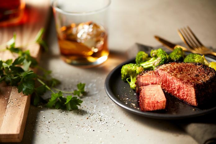 Pepper Steak & Whiskey