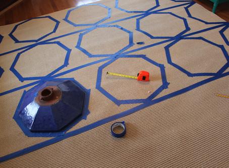 Painted Rug DIY