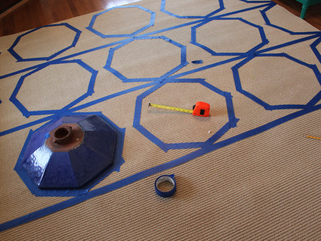 Painted Rug DIY