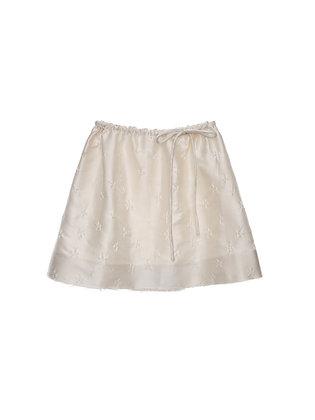 ShuShu/Tong Bow Skirt - White