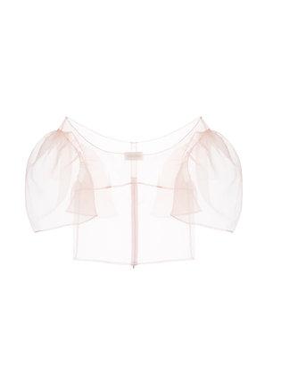 ShuShu/Tong Organza Top - Pink