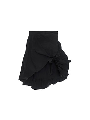 ShuShu/Tong Asymmetric Skirt - Black