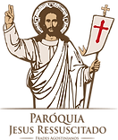 logo Paroquia Jesus Ressuscitado PNG A.p