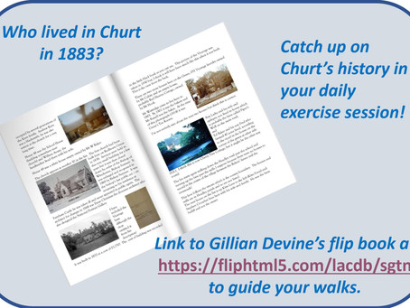 Catch up on churt's History in Your daily Exercise Session!