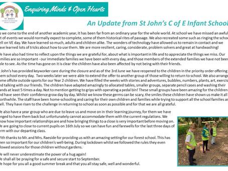 St John's School Update