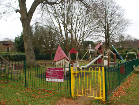 Churt Playground reopening rules 4 July 2020