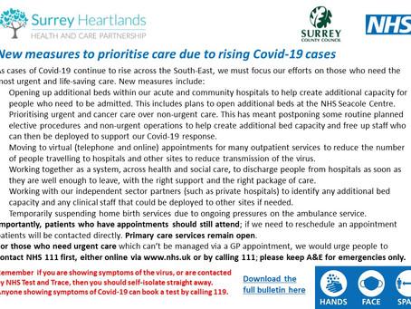 Surrey Heartlands Announcement