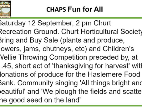 CHAPS Fun for All