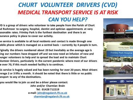 Churt Volunteer Drivers Wanted