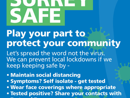 TEST AND TRACE - Keep Surrey Safe