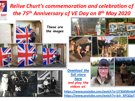 Relive Churt's VE Day 75: Download the full Story