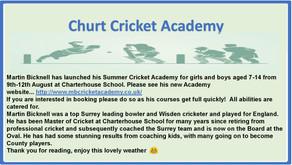 Martin Bicknell Cricket Academy
