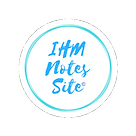 IHM Notes Site