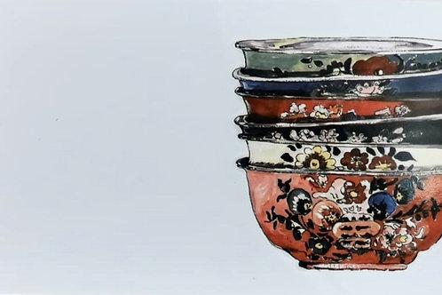 Betsie Vintage Bowls