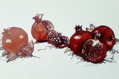 Red Pomegranates