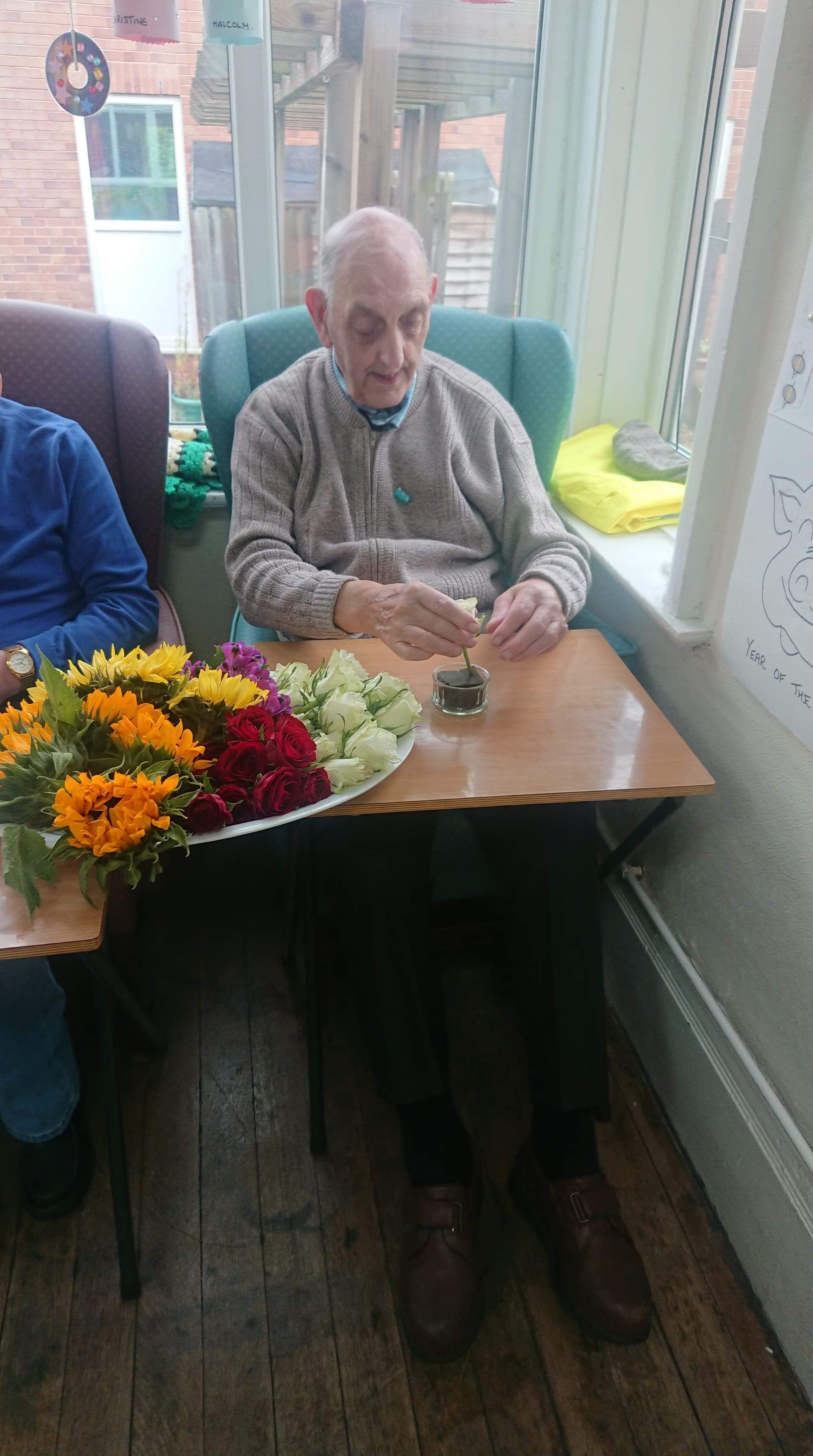 Alan Flower Arranging