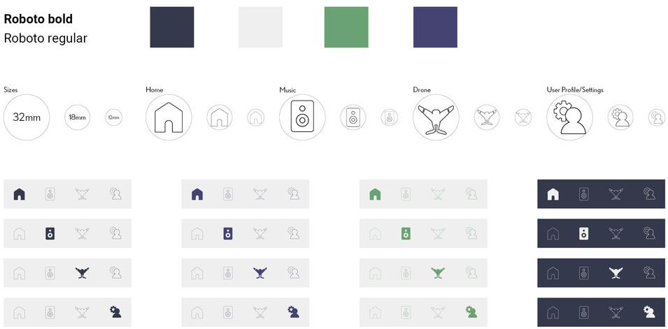 Color & Icon Study