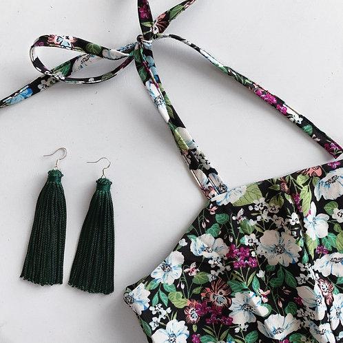 Ivy Green Tassel
