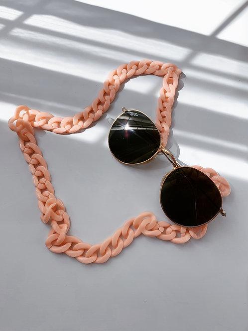 Chunky Peach Sunglasses Chain
