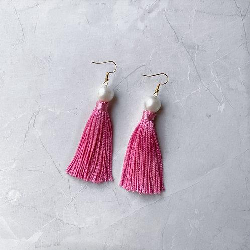 Girl Meets Pearl Sophia Pink Tassel