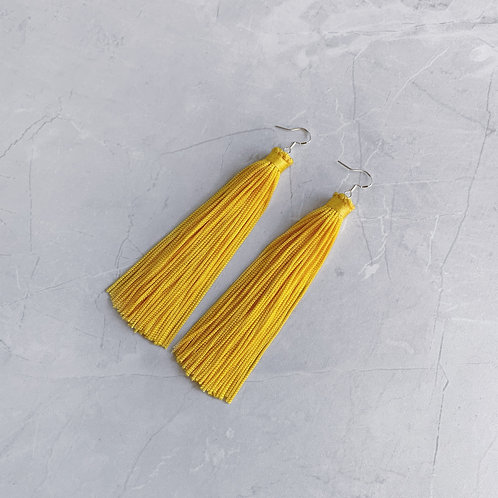 MAXI YELLOW TASSEL