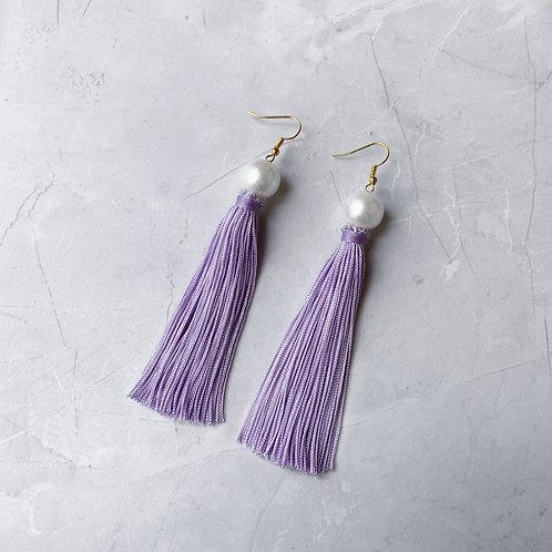 Girl Meets Pearl Effie Purple Tassel