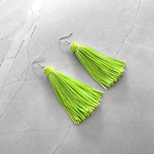 Neon Green Tassel